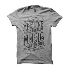Medicine Heals T-Shirt, $22, now featured on Fab.