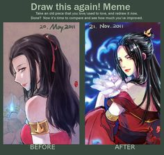 Draw this again Meme_6month by kelly1412.deviantart.com