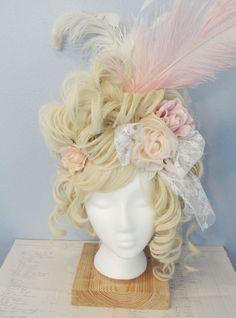 DIY wig--very bourgeoisie