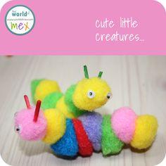 Fluffy little caterpillars...