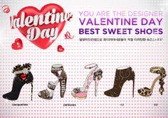 shoes design app_ YOU ARE THE DESIGNER_valentine shoes