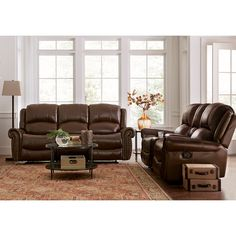 Carlyle Top Grain Leather Recliner