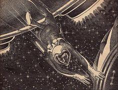 Virgil Finlay, 1947.