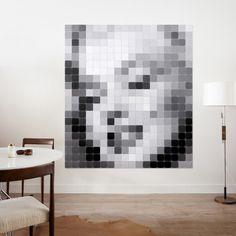 Pixel wanddecoratie Ixxi marilyn monroe | Musthaves verzendt gratis
