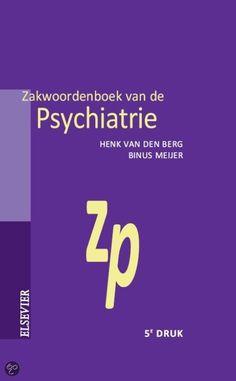 Zakwoordenboek van de psychiatrie