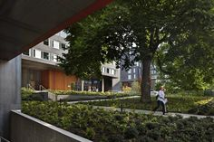 Moradia Estudantil West Campus,© Benjamin Benschneider