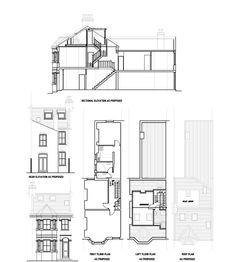 Loft Conversion Plans For Victorian Terraced House