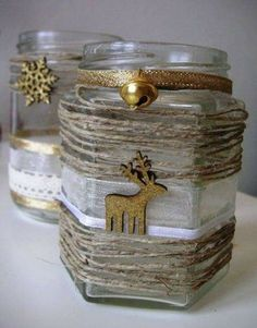 Wind lights for Christmas 2 - Christmas Crafts Diy Christmas Jars, Christmas Crafts For Kids, Diy Christmas Gifts, Simple Christmas, Winter Christmas, Christmas Wreaths, Christmas Decorations, Christmas Lights, Advent Candles