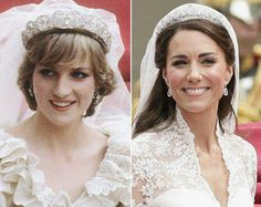 Princess Diana and the Duchess of Cambridge