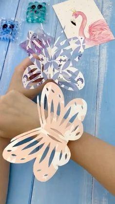 Paper Crafts Origami, Paper Crafts For Kids, Diy Arts And Crafts, Preschool Crafts, Fun Crafts, Diwali Craft For Children, Art For Kids, Diy Doll Suitcase, Instruções Origami