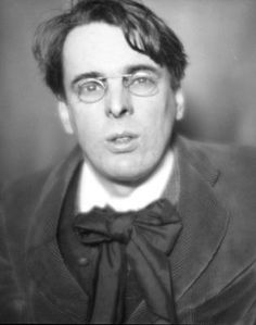 William Butler Yeats -   Irish poet and one of the foremost figures of 20th-century literature.