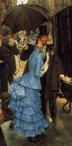 """Detail of """"The Bridesmaid"""" - 1883-85"""