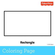 rectangle coloring pages - it s hip to be a square kids can color this page in to be