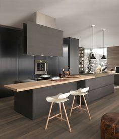 moderne küchen stilvolles küchendesign in schwarz matt