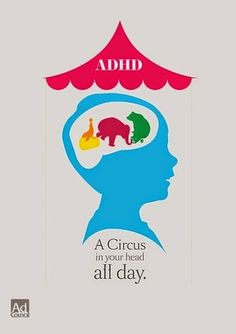 Attention Deficit Hyperactivity Disorder , or better known as ADHD , is a very common childhood disorder. Adhd Odd, Adhd And Autism, Adhd Funny, Adhd Humor, Adhd Quotes, Adhd Help, Adhd Brain, Attention Deficit Disorder, Adhd Strategies
