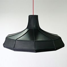 Leather Lampshades by Pepe Heykoop [Dutch Design]