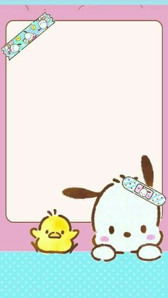 Pochacco uploaded by GLen =^● 。●^= on We Heart It Sanrio Wallpaper, Kawaii Wallpaper, Cute Wallpaper Backgrounds, Cartoon Wallpaper, Cool Wallpaper, Cute Wallpapers, Iphone Wallpaper, Hello Kitty Characters, Sanrio Characters