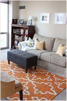 I want a living room area rug