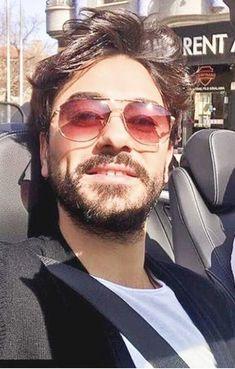 Mirrored Sunglasses, Mens Sunglasses, Love Husband Quotes, Turkish Actors, My Crush, Face Care, Quotation, Mens Fashion, Stars
