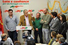 Campomaiornews: Jerónimo de Sousa, secretário-geral do PCP, partic...