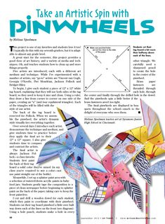 Pinwheels. I can use map paper for these