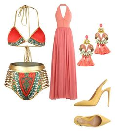 """boys"" by hannah-graves ❤ liked on Polyvore featuring Elie Saab, Lerre and Elizabeth Cole"