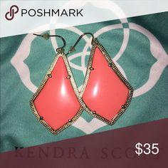 Kendra Scott Alexandra earrings Coral Kendra Scott Jewelry Earrings