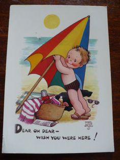 Mabel Lucie Attwell 1965 postcard | eBay
