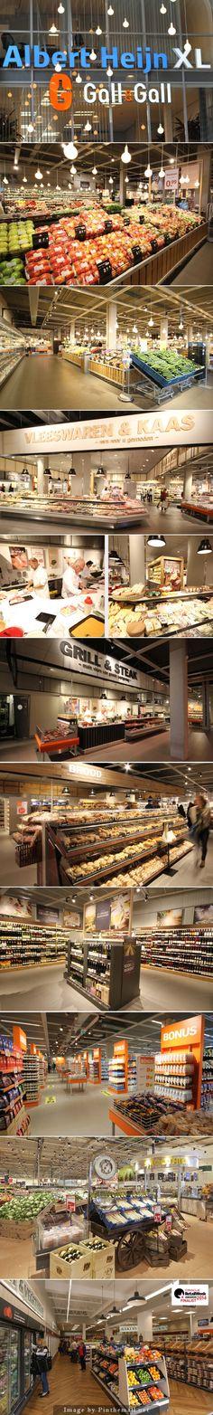 Albert Heijn – Leidschendam Albert Heijn, one of Europe's largest grocery retailers, have opened their latest XL store in Leidschendam, Holland. - created on 2014-09-13 09:41:04