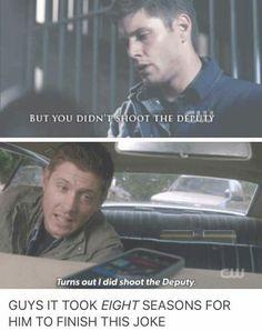 He did shoot the deputy!