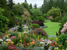 Queen Elizabeth Park Gardens~ Vancouver BC  This is where we got engaged!