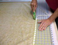 Finally some good information about applying the quilt back. As the site says, most quilt patterns are vague about this.