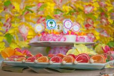 Luau Theme Summer Party Ideas | Photo 14 of 30 | Catch My Party