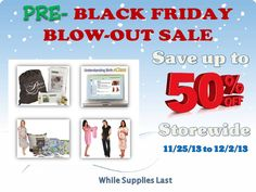 Today starts My Pure Delivery Pre-Black Friday SALE running for 1 week from today until Cyber Monday (12-2)!  Save up to 50% Off Store-wide on Maternity Wear, Labor Bags, Baby Shower Gifts, Belly Bands, Online Childbirth Classes and More. NOW is time to get that special gift for Mama-to-be, Baby, Dad even your Doula / Midwife.  *FREE SHIPPING*  http://mypuredelivery.com/categories