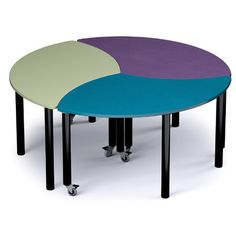 "Russwood Palette 27"" x 59"" x 35"" Novelty Activity Table Side Finish: Black, Top Finish: Eggplant"