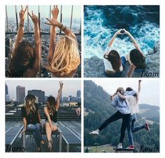 """""""Picture of you and your best friend you post on Instagram"""" by xcuteniallx ❤ liked on Polyvore"""
