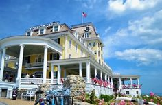 The iconic Ocean House Hotel in Watch Hill, RI