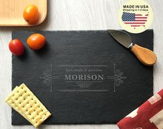 Image result for engraved slate cheese board