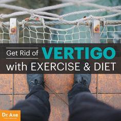 How to get rid of vertigo - Dr. Axe