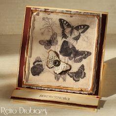 - Retro Drobiazgi - Pracownia Rękodzieła - decoupage i scrapbooking: Motyle vintage.