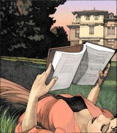 ilustración de Miles Hyman