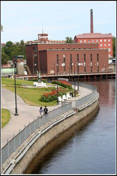 Tampella, Tampere, Pirkanmaa_ Finland Cities In Finland, Helsinki, Countries, Wonderland, Mansions, House Styles, City, Finland, Historia