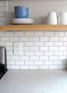 Subway Tile Kitchen Backsplash How To Subway Tile