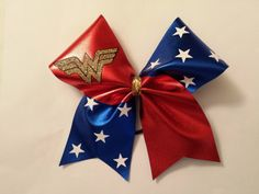 Wonder Woman cheer bow