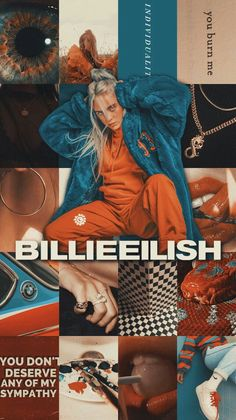 Billie eilish billie elish billie eilish, iphone wallpaper e Billie Eilish, Videos Instagram, Album Cover, Henry Ford, Aesthetic Collage, Cute Wallpapers, Vintage Wallpapers, Wallpaper Wallpapers, Aesthetic Wallpapers