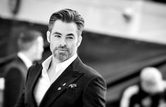 """pine-farr: """"Chris Pine arrives for the UK premiere of """"Star Trek Beyond"""" at Empire Leicester Square on July 12, 2016 in London, United Kingdom. [hq] """""""
