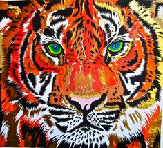 Tiger Limited Edition Giclee Art Print