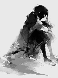 Sasuke Uchiha. He just has to find his way. #naruto