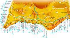 Algarve Beaches Map   In Vino Viajas : Veja porque Lagoa, no Algarve – que tem uma das praias mais lindas do mundo - foi eleita a Cidade do Vinho 2016 de Portugal