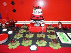 "Photo 5 of 28: Ladybugs / Birthday ""Our Little Baby is Becoming a Little Lady!"" 